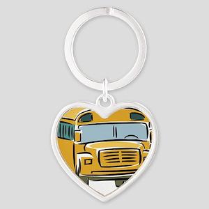 Bus_0025 Heart Keychain