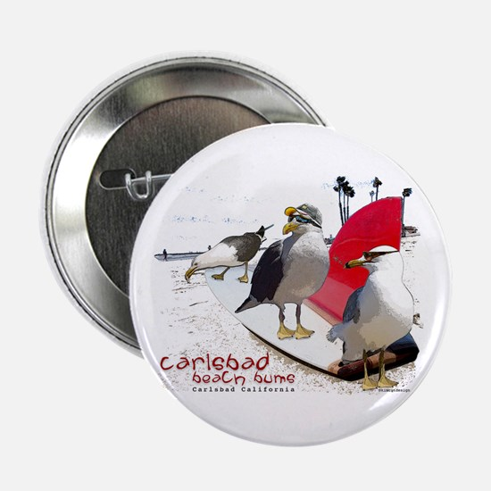"Carlsbad California 2.25"" Button"