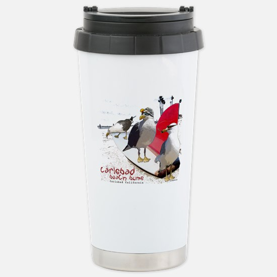Carlsbad California Stainless Steel Travel Mug