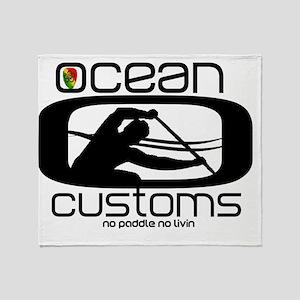 Ocean Customs/OC6 Throw Blanket