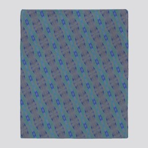 Color Scratched Artwork Pattern Throw Blanket