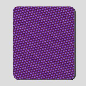 Funky Purple Pattern Mousepad