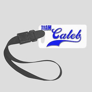 Team Caleb Small Luggage Tag