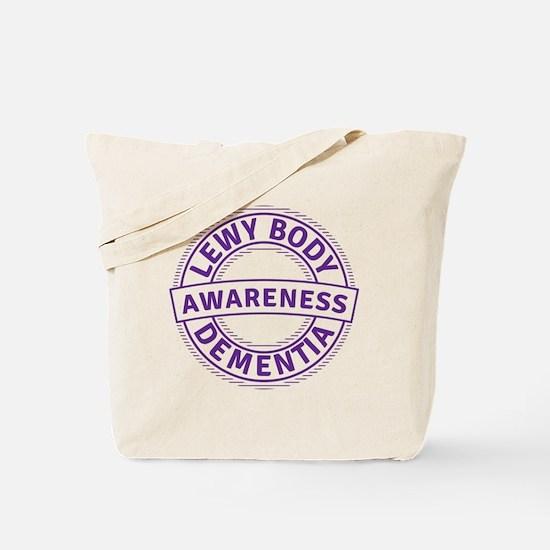 Lewy Body Dementia Awareness Tote Bag
