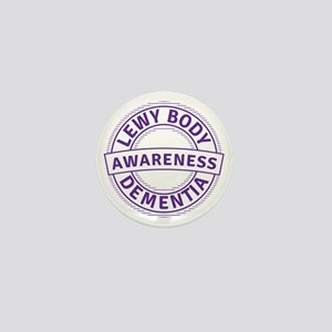 Lewy Body Dementia Awareness Mini Button