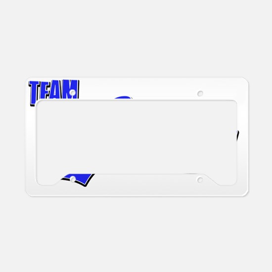 Team Cooper License Plate Holder