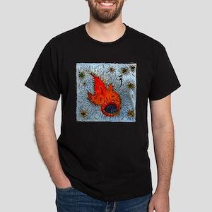 Bottom Fish by Alp Ozberker Dark T-Shirt