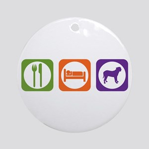 Eat Sleep Presa Ornament (Round)