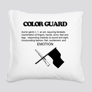 Guard Definition Square Canvas Pillow