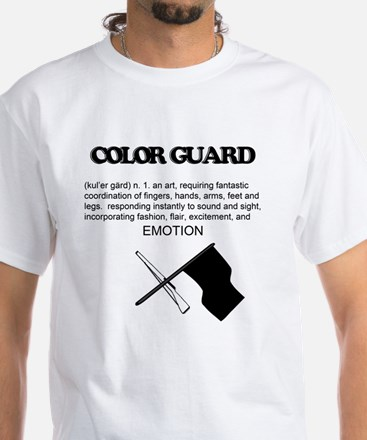 Guard Definition White T-Shirt