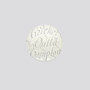 Cricket Outta Compton Mini Button