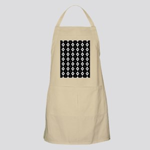 Funky Black And White Pattern Apron