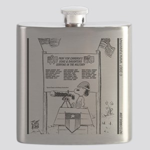 SONS AND DAUGHTERS OF CAMBRIA Flask