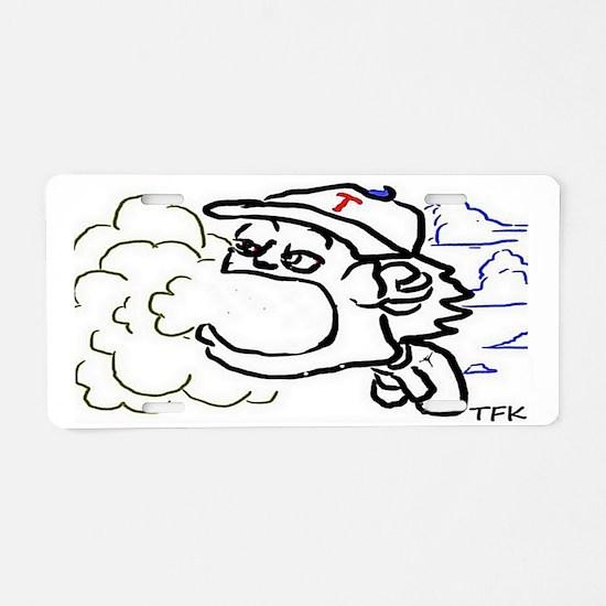 FLYIN HIGH Aluminum License Plate