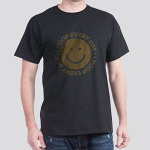 IPoopEveryDay_Brown Dark T-Shirt