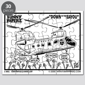DOWN ON THE BAYOU Puzzle