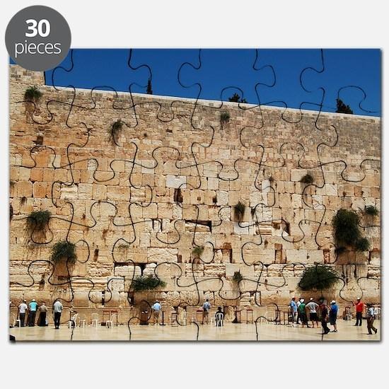 Western Wall (Kotel), Jerusalem, Israel Puzzle