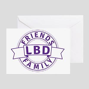 Lewy Body Dementia Awareness Greeting Card