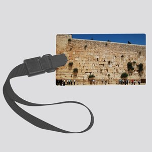 Western Wall (Kotel), Jerusalem, Large Luggage Tag