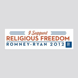 I Support Religious Freedom 20x6 Wall Decal