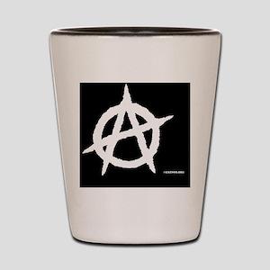 Ana-LugTagLgBlack Shot Glass