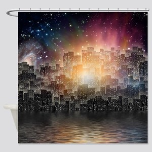 Mega City Shower Curtain