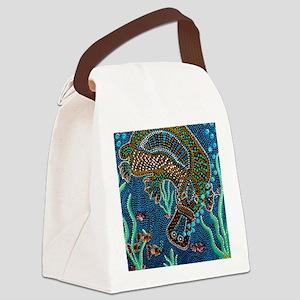 Platypus Adventure Canvas Lunch Bag