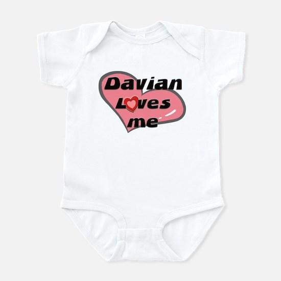 davian loves me  Infant Bodysuit