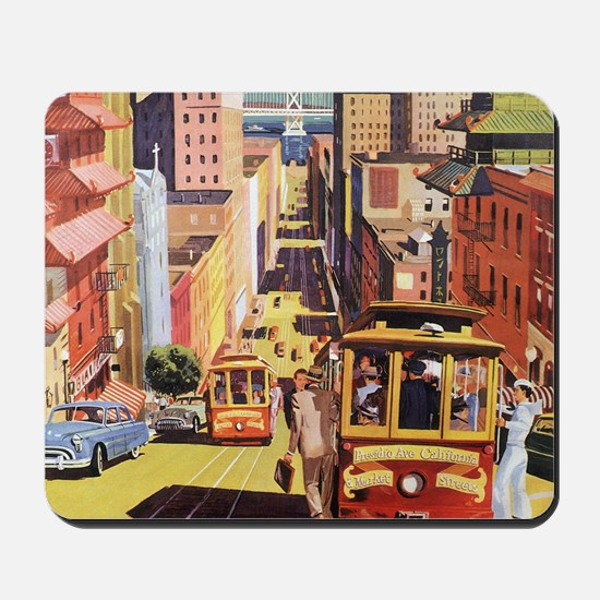 Vintage San Francisco Mousepad