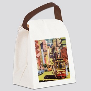 Vintage San Francisco Canvas Lunch Bag