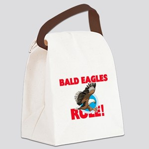 Bald Eagles Rule! Canvas Lunch Bag