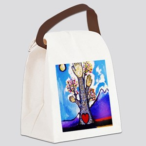 Tree of Life, Canvas Lunch Bag