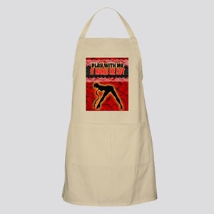 Play with me it makes me hot 3 Apron