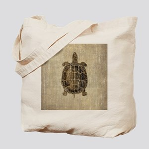 Vintage Turtle Tote Bag