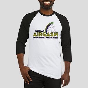 Powered Paragliding - Airgasm Baseball Jersey