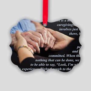 Im With You Picture Ornament