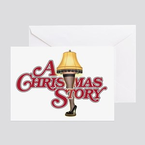 A Christmas Story Greeting Card