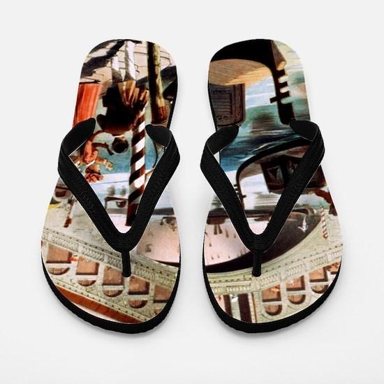 Vintage Venice Flip Flops