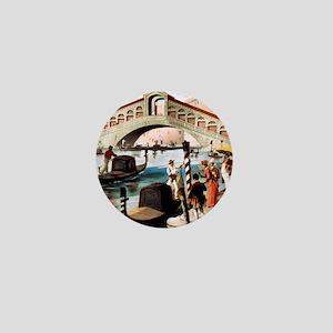 Vintage Venice Mini Button