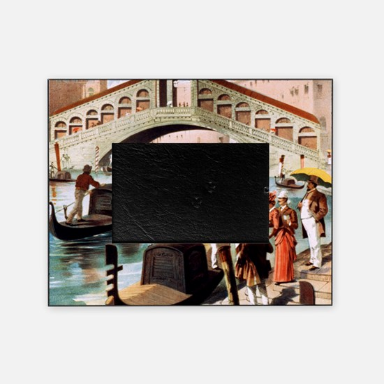 Vintage Venice Picture Frame