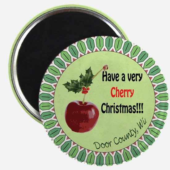 Have a Cherry Christmas Magnet
