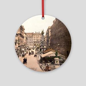 Vintage Vienna Round Ornament