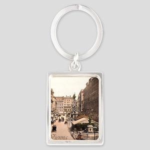 Vintage Vienna Portrait Keychain
