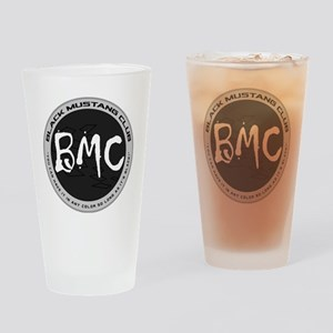 BMC Brand Logo Drinking Glass