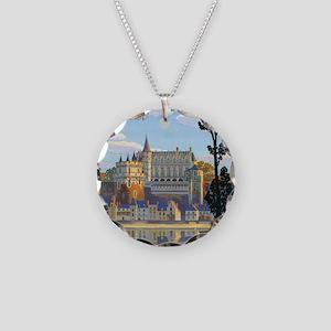 Château dAmboise Necklace Circle Charm
