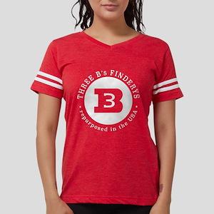 Three B's White Logo Fitted T-Shirt