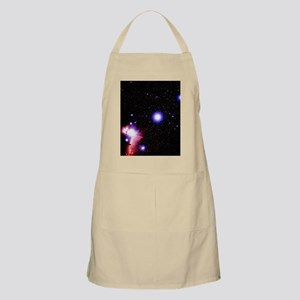 Optical image of the stars of Orion's belt Apron