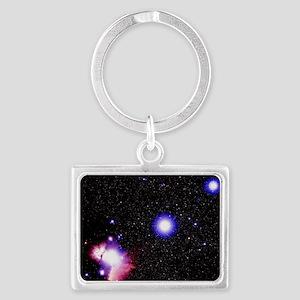 Optical image of the stars of O Landscape Keychain