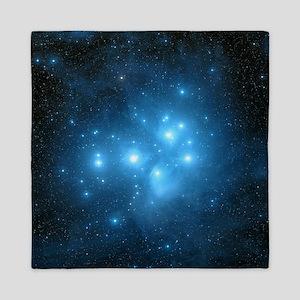 Pleiades star cluster Queen Duvet