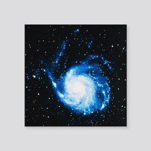 "Optical image of M101, the  Square Sticker 3"" x 3"""